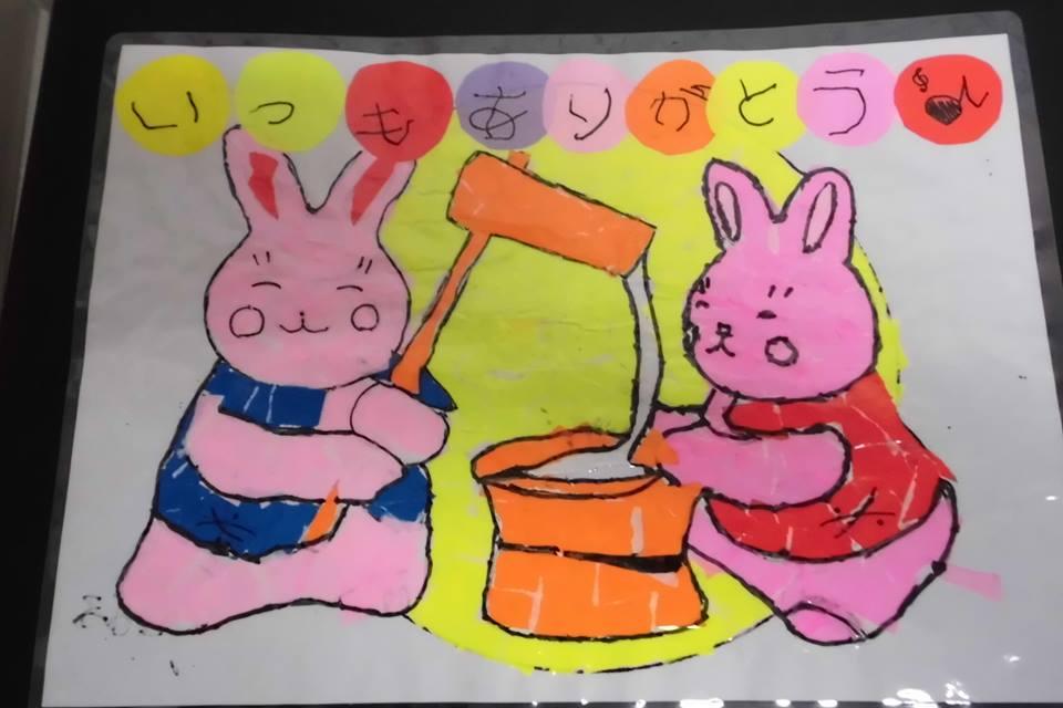 月夜のウサギをプレゼント!!