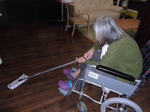 「車椅子でもできます」