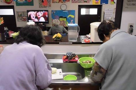 両ユニットのキッチン風景!!
