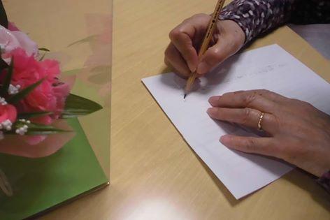 母から子へ感謝の手紙!!