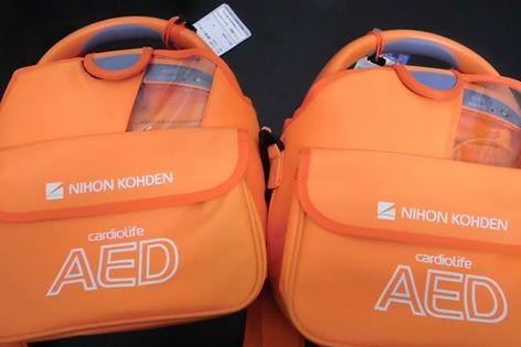 AED設置しています!!