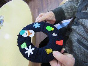 「手作りの毛糸作品」